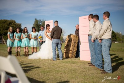 Country wedding of Tim and Phoebe in Yuma, Arizona
