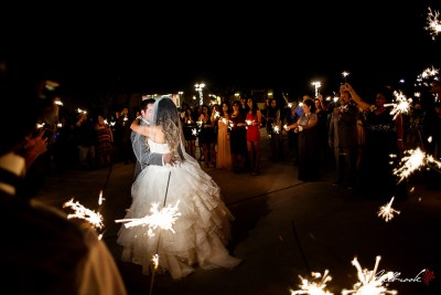 Wedding of Brittney and William in Yuma, Arizona.