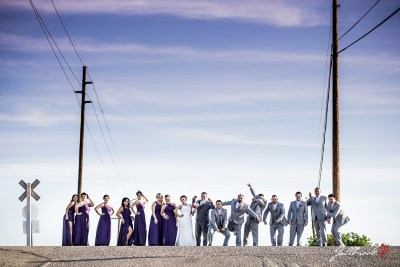 Bridal Party Pictures in Yuma, Arizona near Cocopah RV and Golf Resort