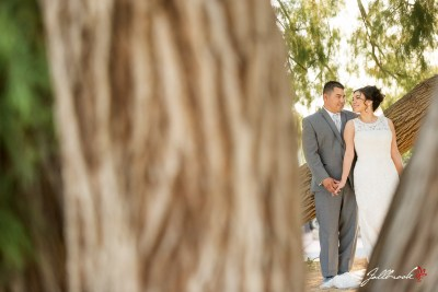 Bride and Groom Pictures at Cocopah RV Golf Resort in Yuma, Arizona