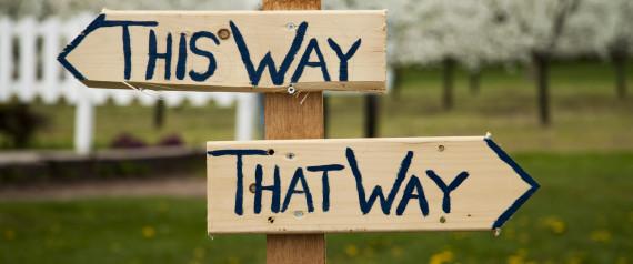 Way sign