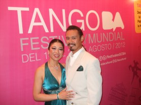 Tango World Championship in Buenos Aires, Argentina. Representing USA. August 2012