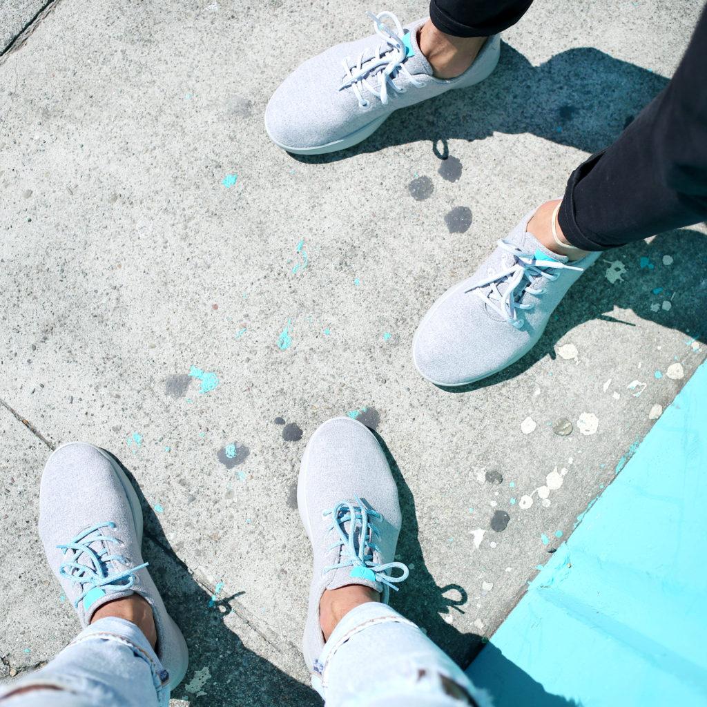 Allbirds, wool shoes