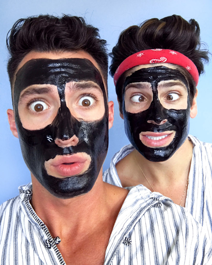 Reviewing Boscias Luminizing Black Mask available at Sephora