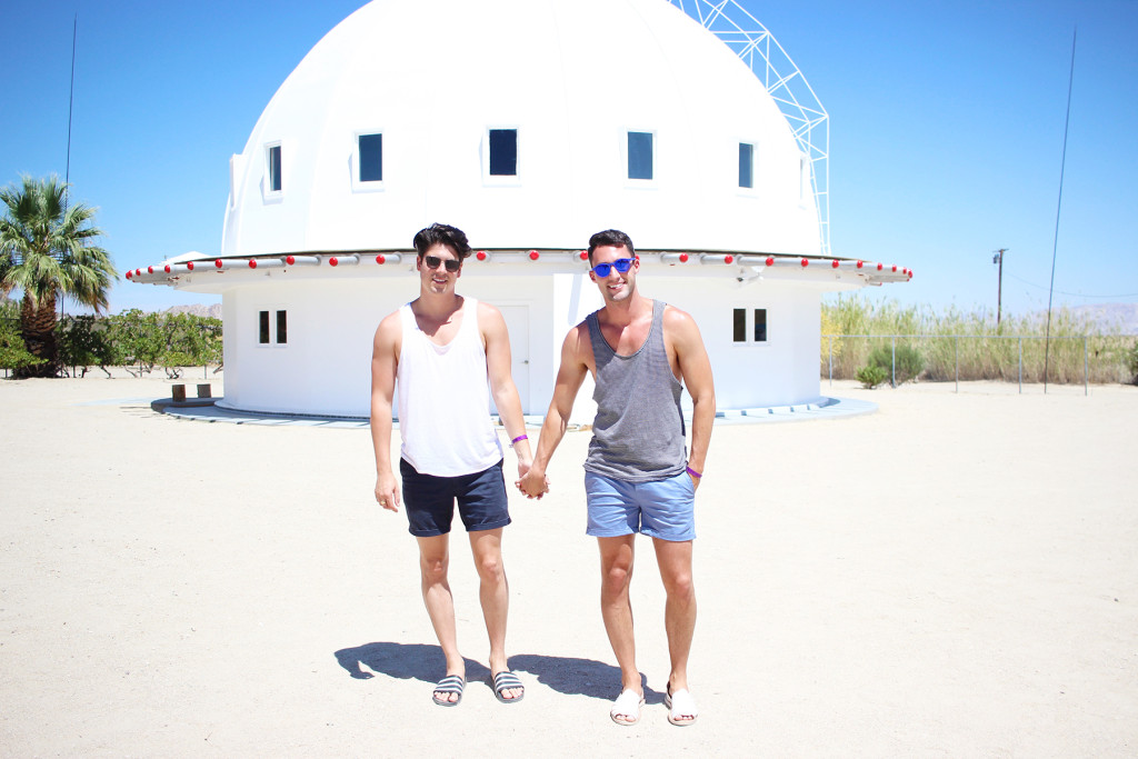 yummertime visit to the Integratron near Palm Springs