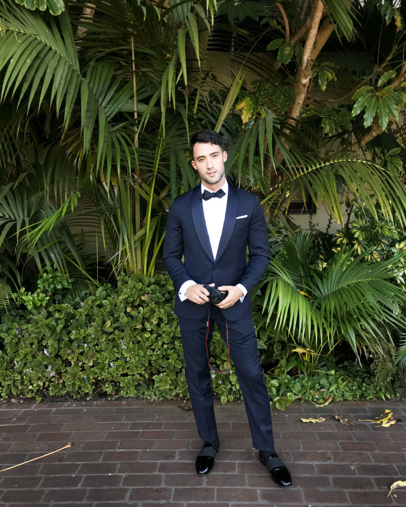What to wear for black tie