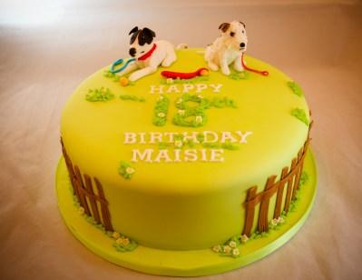 Maisies Dog Cake