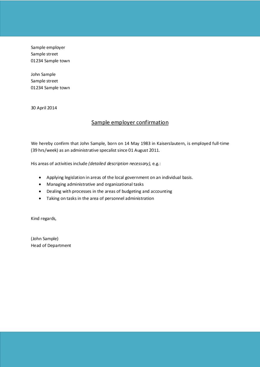 I Have No Income Affidavit Letter