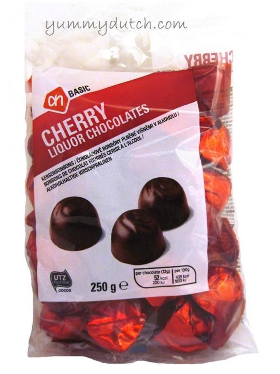 Cherry Liquor Chocolates AH Basic Yummy Dutch