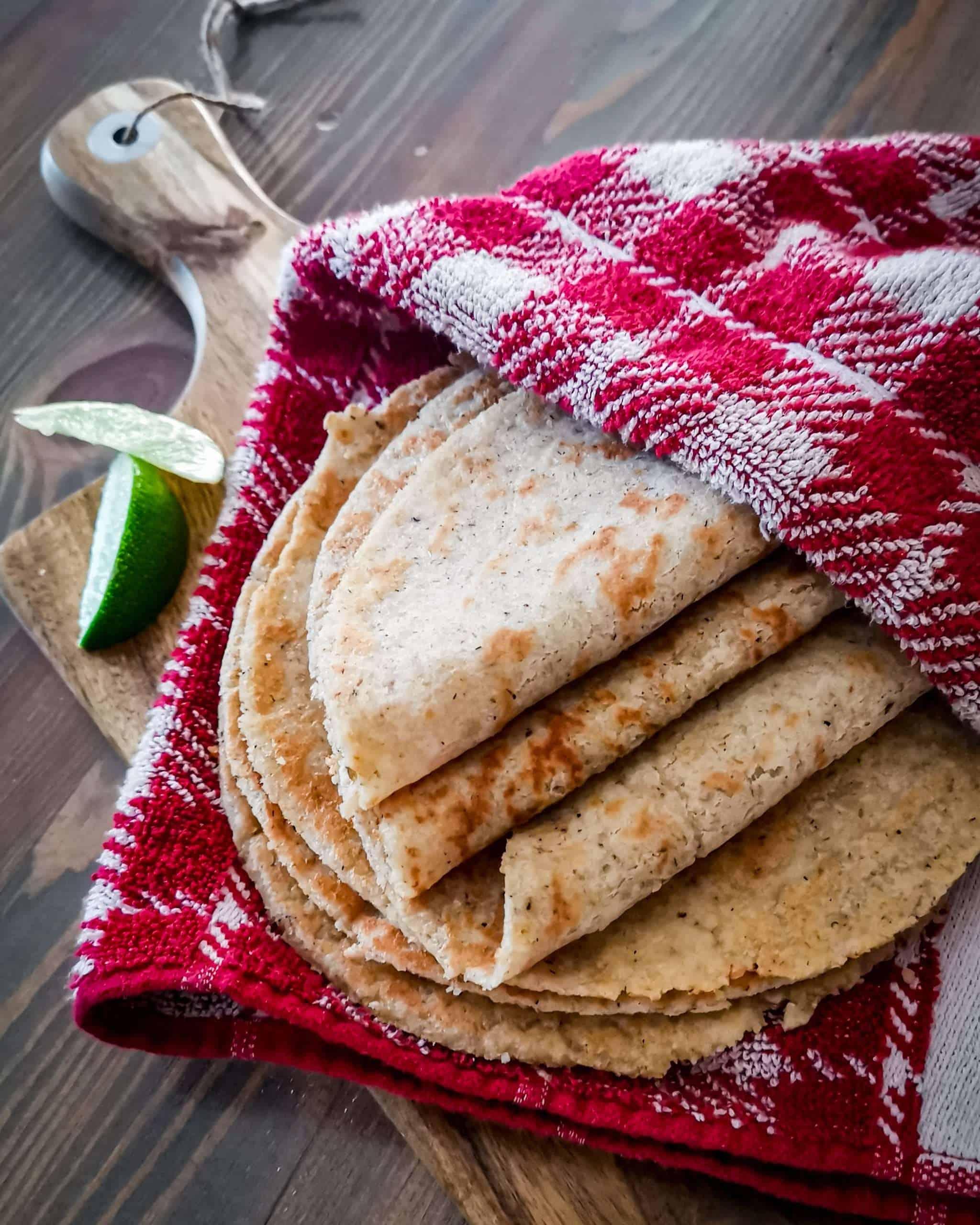 Keto Tortilla 3 fold