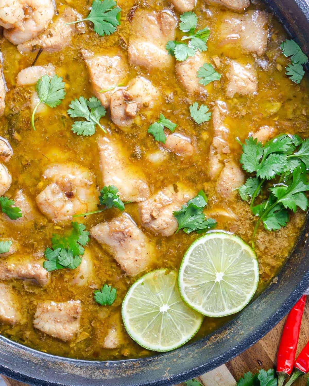 Keto Seafood Korma