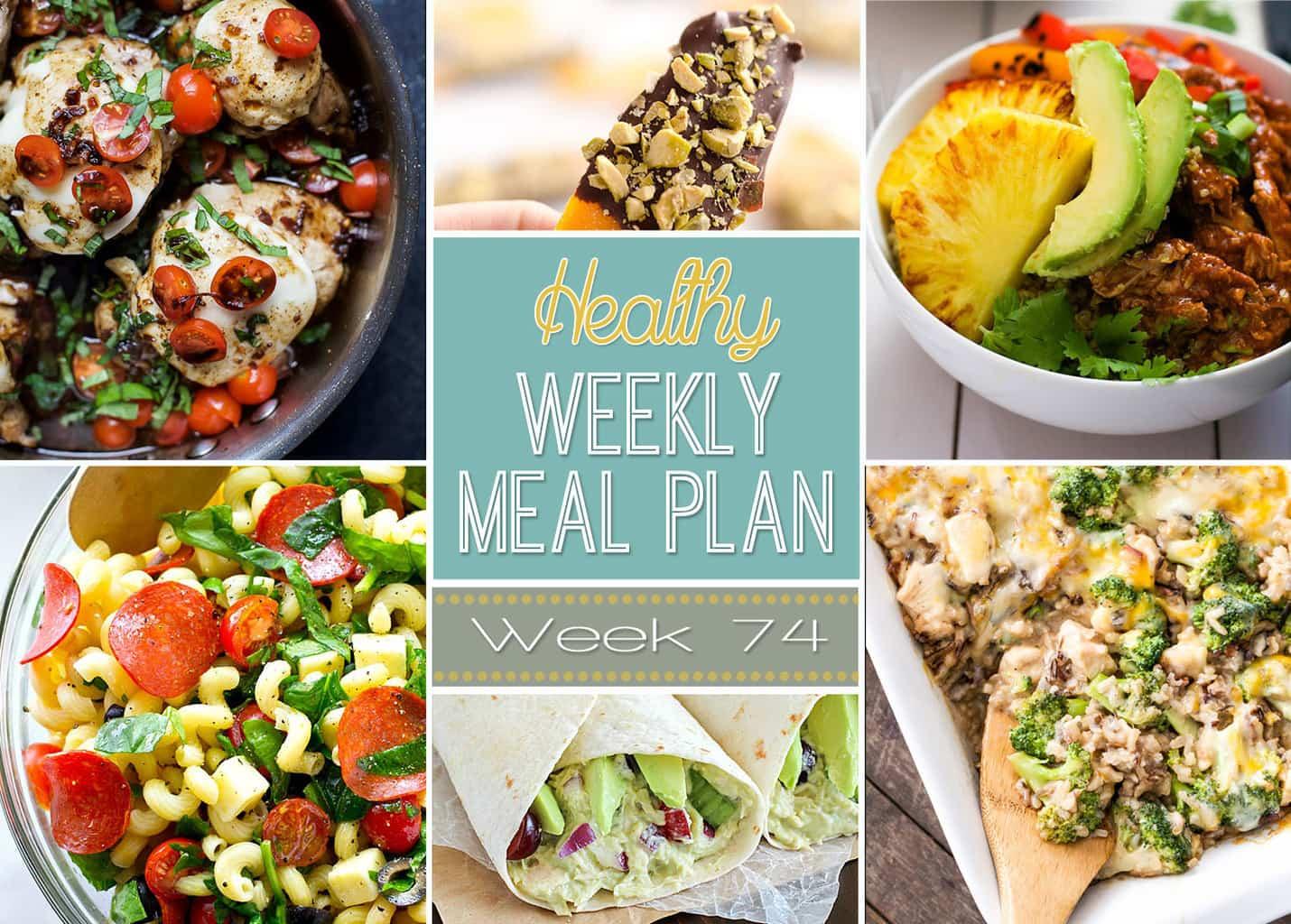 Healthy Weekly Meal Plan 74
