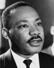 MARTIN LUTHER KING, Jr - (1929-1968). American cleric and reformer. Photographed in March 1965.