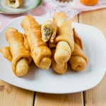 Cameroonian Fish Rolls - Plated and Ready