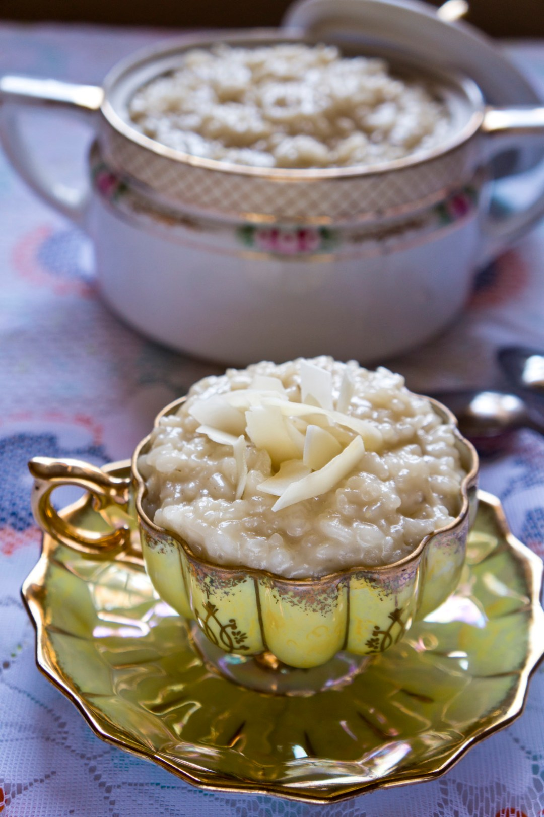 Senegalese Sombi: An Easy Coconut Rice Pudding