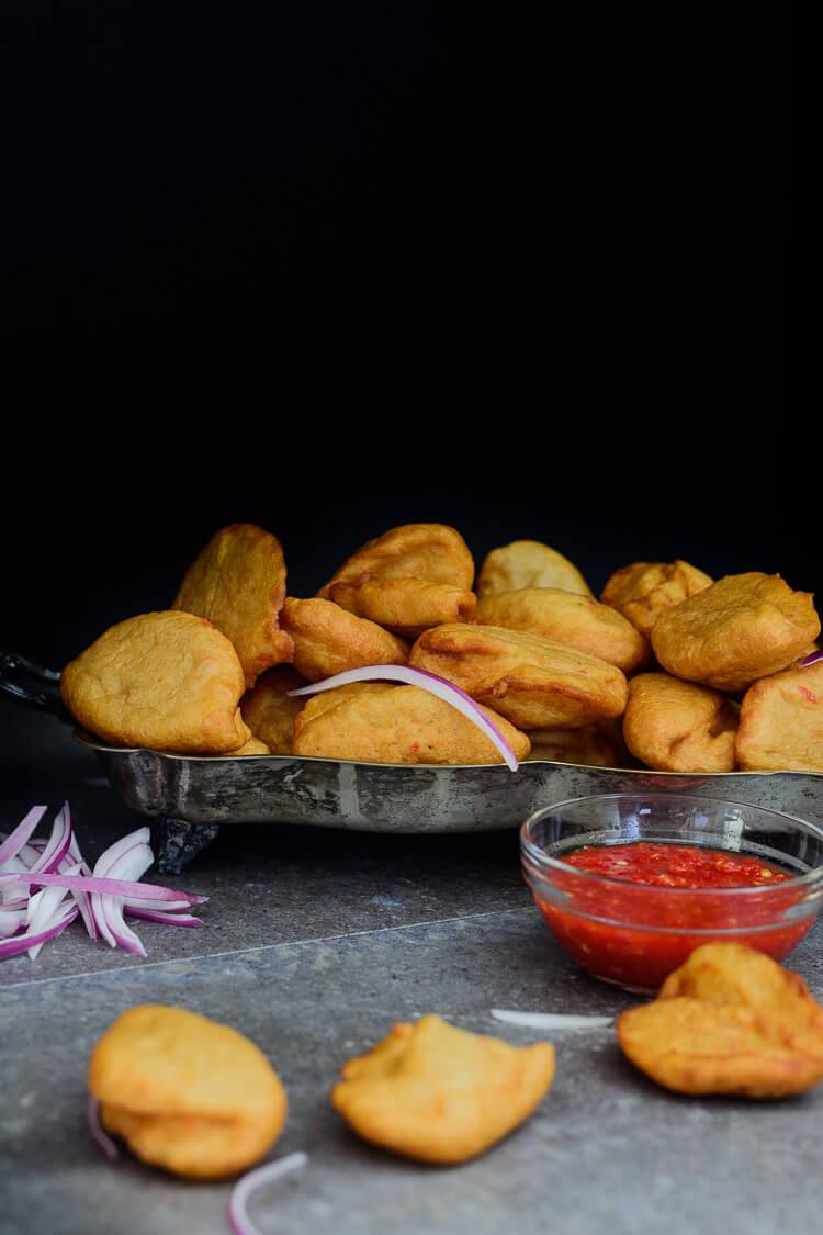 Nigerian Akara (Accara/Acaraje): Black Eyed Pea Fritters ...