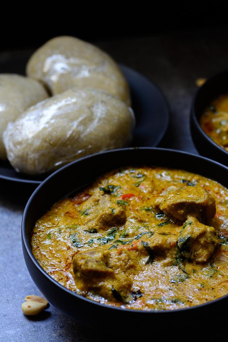 Groundnut Soup (Spicy Nigerian Peanut Stew) - delicious groundnut stew
