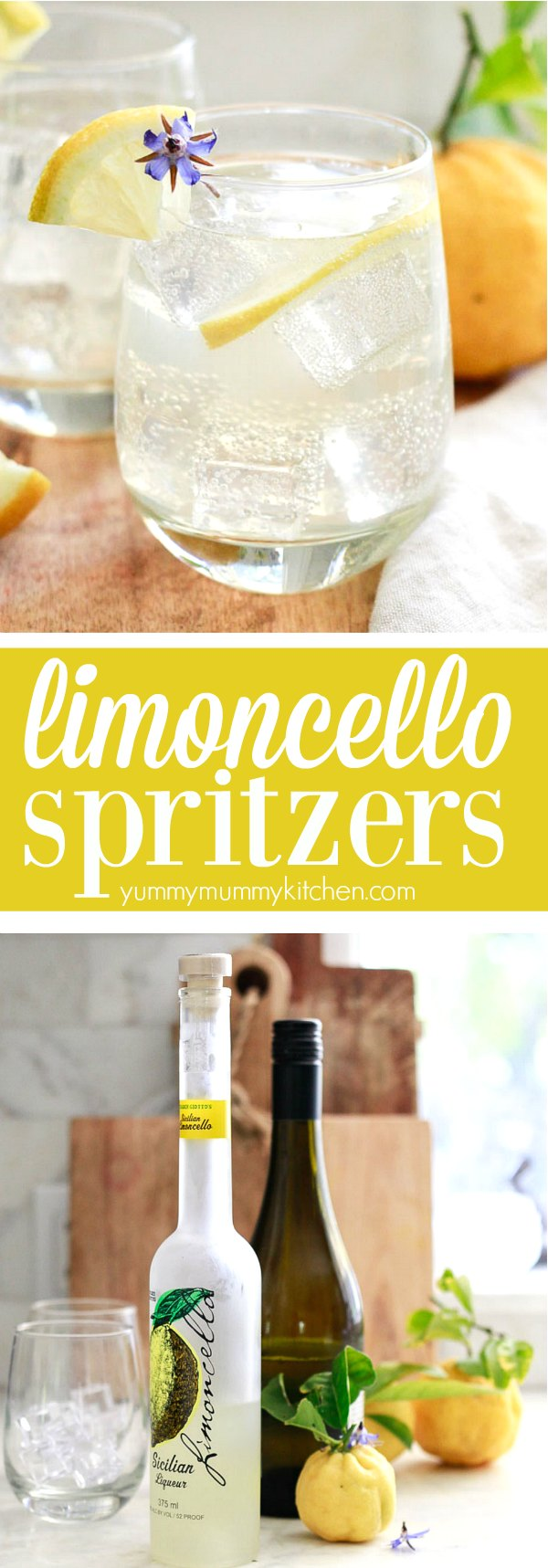Limoncello Spritzer Yummy Mummy Kitchen