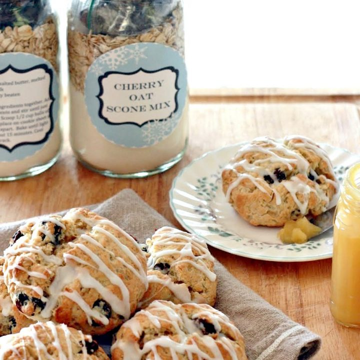 Cherry Oat Scone Mix