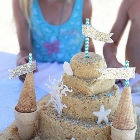 Sandcastle Cake Recipe
