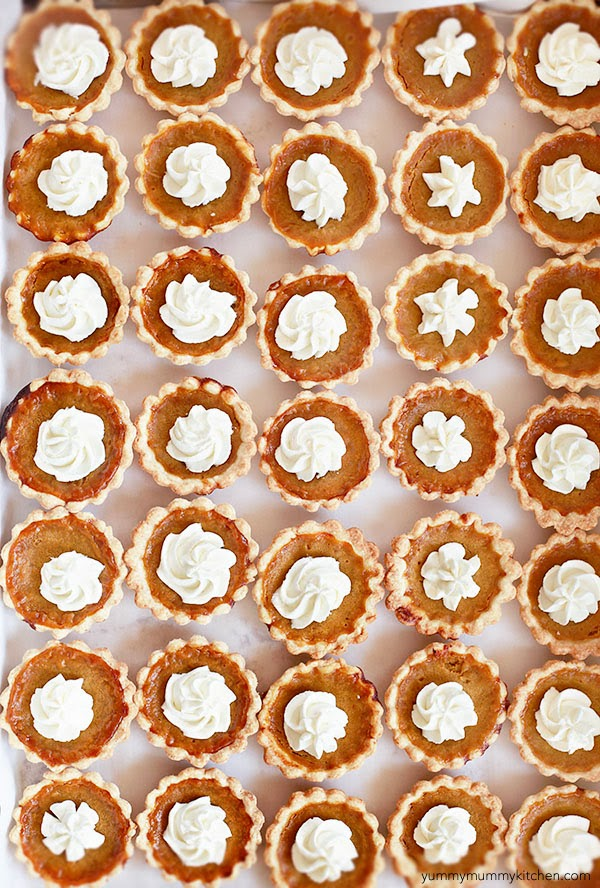 Adorable and delicious mini pumpkin pies made with real food ingredients.