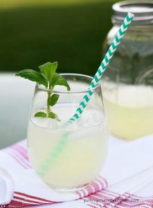 Organic sugar-free healthy lemonade recipe
