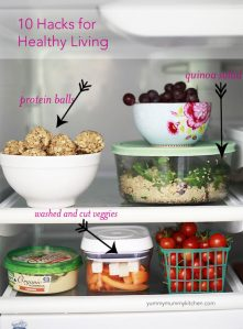 Easy hacks for a healthy lifestyle.
