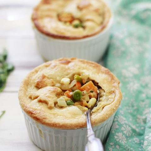 Vegetable Pot Pie with Edamame Recipe