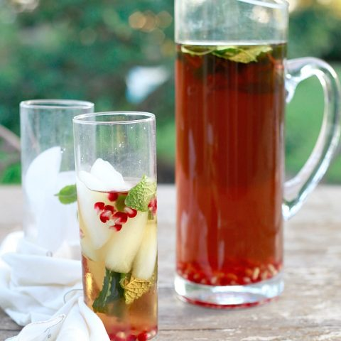 Easy Cold Brewed Iced Tea