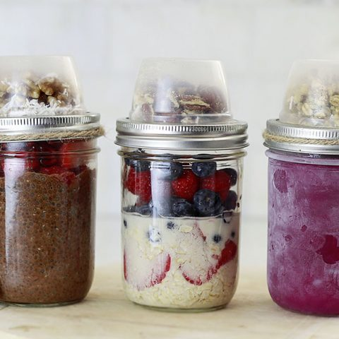 Make-Ahead Breakfast Jars