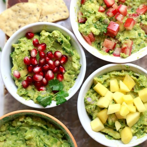 The Best Classic Guacamole