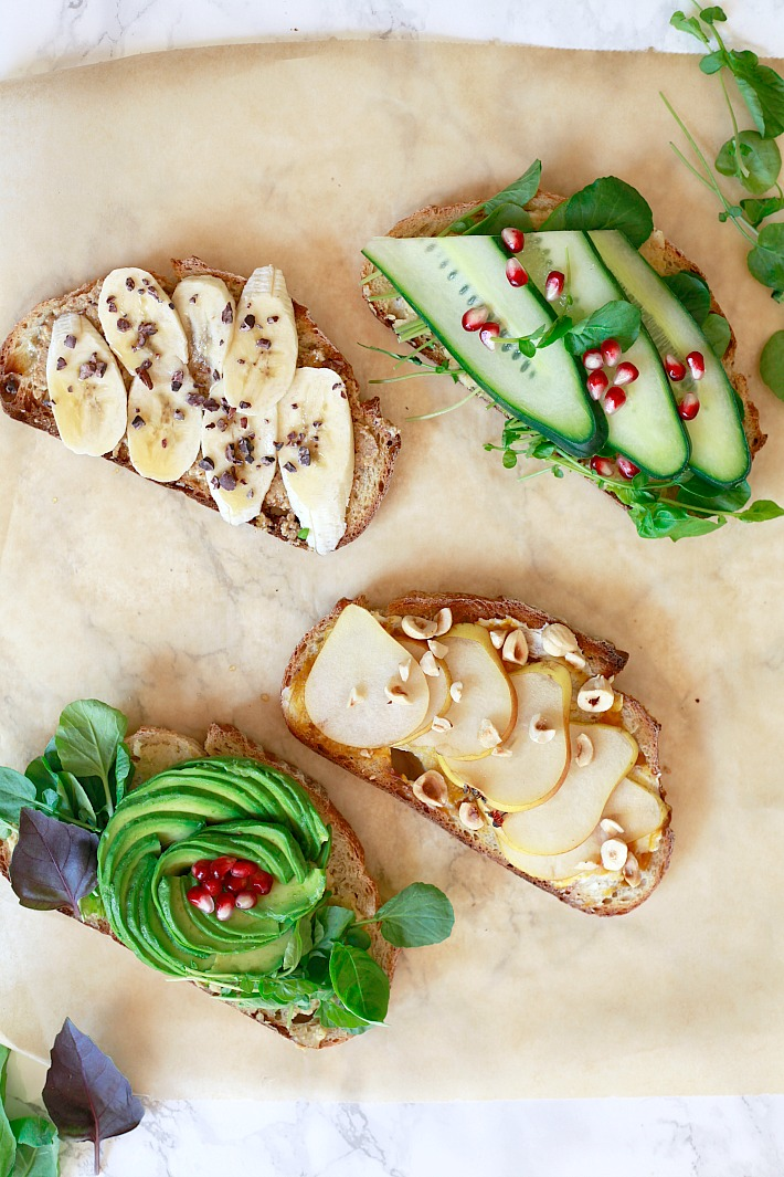 beautiful and delicious toast ideas