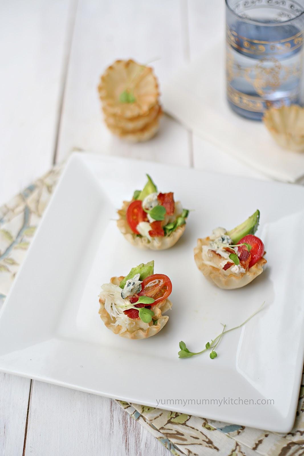 Crab Salad Cups Recipe