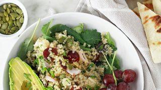 Quinoa Salad with Grapes