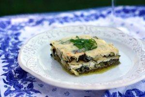 spring vegetable lasagna