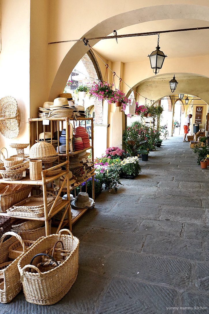 Shopping in Greve in Chianti, Tuscany, Italy.