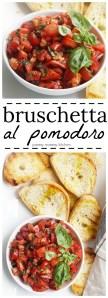 An easy recipe for authentic Italian tomato bruschetta.