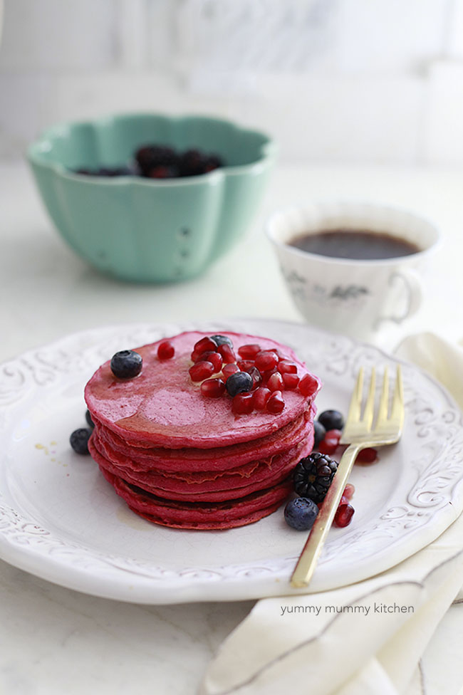 beetroot pancake recipe