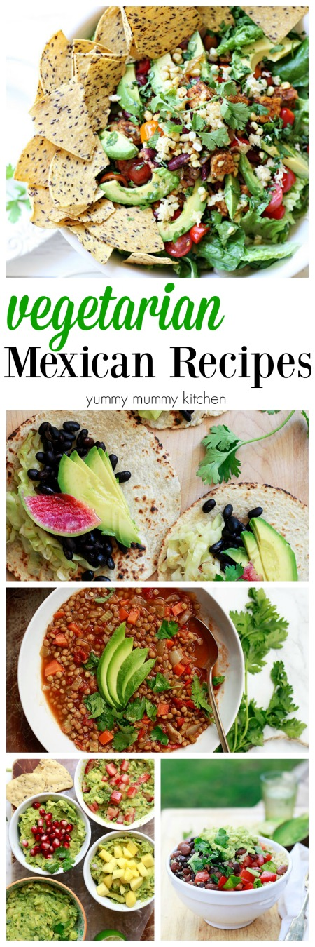Beautiful, healthy, easy Mexican recipes including salad, tacos, soup, and more.