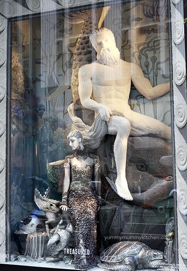 Bergdorf Goodman Christmas Window Display 2015