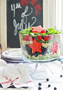 red white and blue salad for 4th of july or memorial day