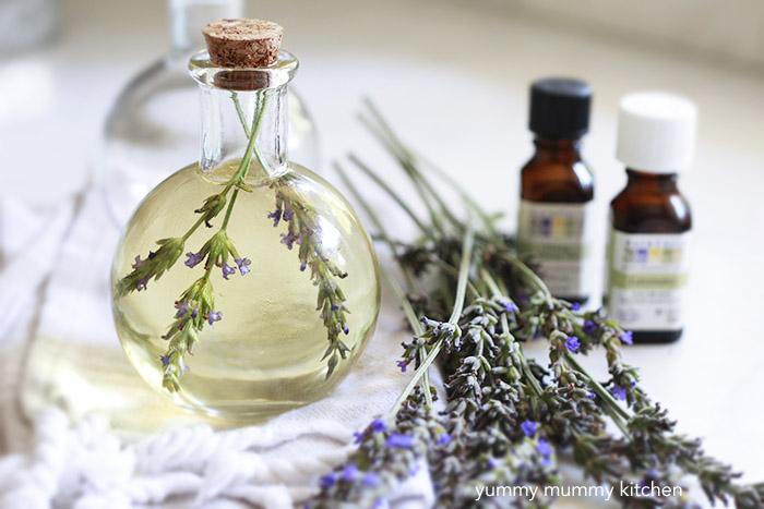 DIY essential oil body oil