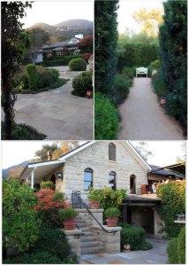 The beautiful Stonehouse restaurant at San Ysidro Ranch in Montecito, California.