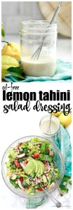 Lemon Tahini Dressing Recipe