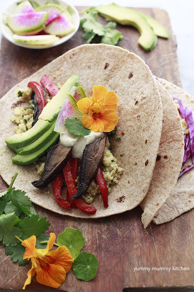 vegetarian mushroom taco recipe