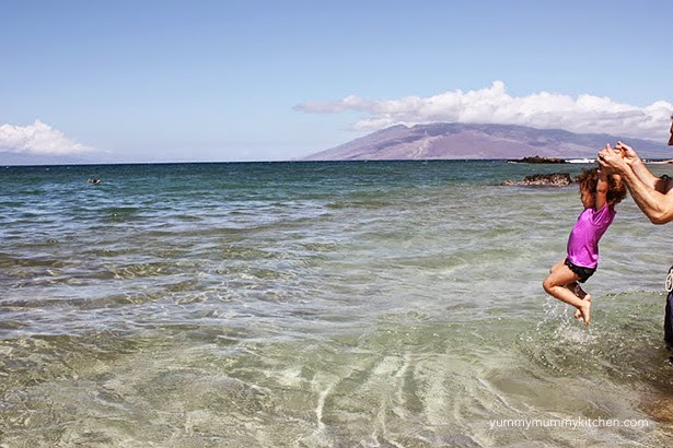 Maui family vacation with young children