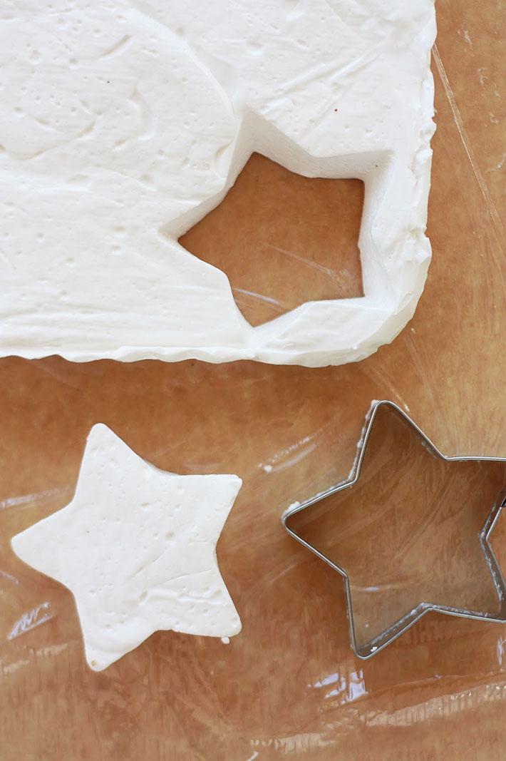 homemade marshmallow stars