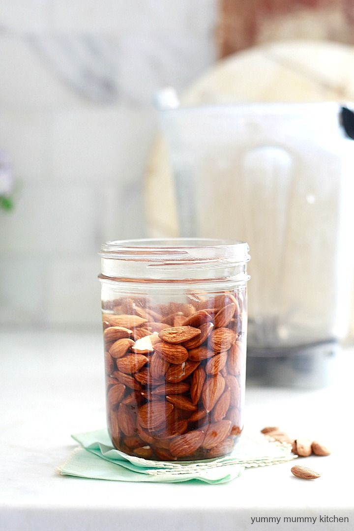 This wholesome homemade chocolate almond milk is easy to make and requires just a few simple ingredients. It's free of refined sweeteners, and is vegan, paleo, and whole-30 approved.