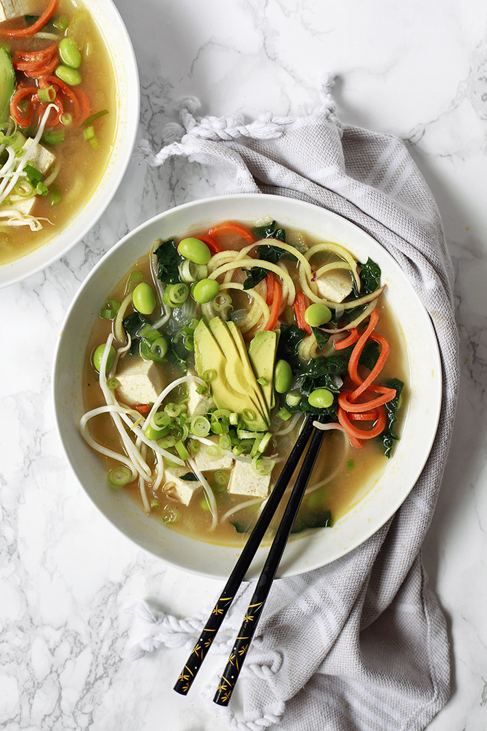 healthy miso soup recipe with vegetables