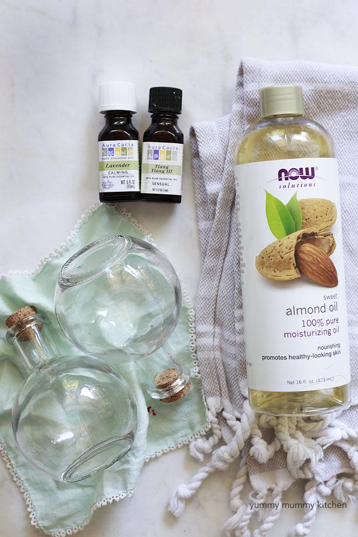 DIY natural moisturizer with essential oils